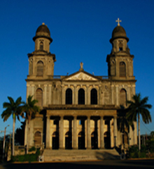 Managua old cathedral - Nicaragua
